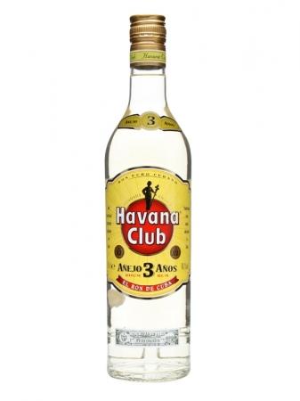 Havanna Club White Rum 3 Year old