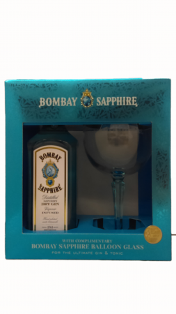 Bombay Sapphire Gin Gift Pack