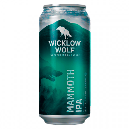Wicklow Wolf Mammoth IPA Can