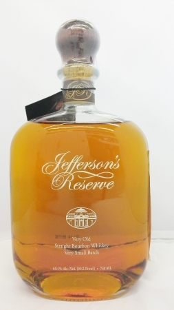 Jeffersons Reserve Bourbon